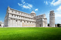 The leaning tower pisa italy Stock Photography