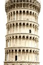 Leaning tower in Pisa, Tuscany, Italy Stock Images