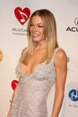 Leann rimes los angeles feb arrives at the muiscares gala honoring barbra streisand at convention center on february in los Royalty Free Stock Photos