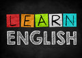 Learn English Royalty Free Stock Photo