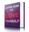Learn to love yourself. Stock Photos
