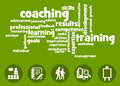 Learning and coaching training in professional life Stock Photos