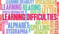 Learning Difficulties Word Cloud