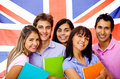 Learning English as a foreign language Stock Photo