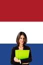 Learning french language Royalty Free Stock Photo