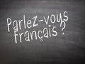 Learning language - French Royalty Free Stock Photo