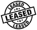 leased stamp Royalty Free Stock Photo