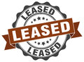 Leased stamp. sign. seal Royalty Free Stock Photo