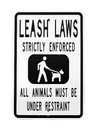 Leash Laws Sign Royalty Free Stock Photo