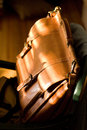Leather Attache Case Stock Images