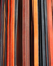 Leather belts Stock Photography