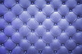 Leather blue wallpaper and background Royalty Free Stock Image