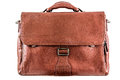 Leather briefcase Royalty Free Stock Photo