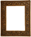 A leather frame to put pictures Royalty Free Stock Photo