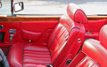 Leather Interior Royalty Free Stock Photo