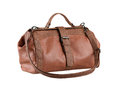 Leather lady handbag Royalty Free Stock Images