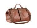 Leather lady handbag Royalty Free Stock Images