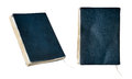 Leather old notebook Royalty Free Stock Photo