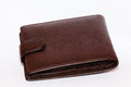 Leather purse Royalty Free Stock Photo