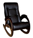 Leather rocking chair Royalty Free Stock Photo