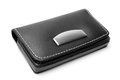 Leather visiting card holder Royalty Free Stock Photo