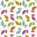 Leaves pattern background. Leaves colorful