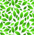 Leaves Pattern Illustration Royalty Free Stock Photos