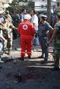Lebanese Bomb Blast Royalty Free Stock Photo