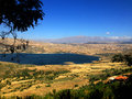 Lebanese landscape, Bekaa Valley Beqaa (Bekaa) Valley, Baalbeck, Lebanon Royalty Free Stock Photo