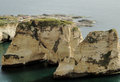 Lebanon - Beirut Rauche Rocks Royalty Free Stock Photo