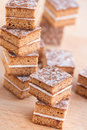 Lebkuchen gingerbread biscuits close up Royalty Free Stock Photos