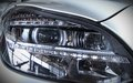 Led car light rectangular new technolgy close up Royalty Free Stock Image