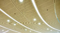 LED ceiling lighting Royalty Free Stock Photo