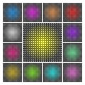 LED display backgrounds Stock Photo
