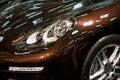 Led headlight of car Royalty Free Stock Photo