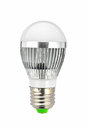 Led lamp bulb light isolated on white Stock Photo