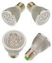 Led light bulb isolated on white background Stock Photography