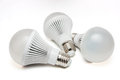 LED light bulbs. Royalty Free Stock Photo