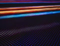 Led light Pattern technology colorful abstract background Royalty Free Stock Photo