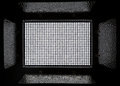 Led panel consisting of 900 white diodes.