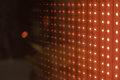 Led red cube