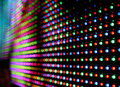Led screen Royalty Free Stock Image