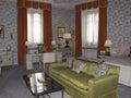 Leeds Castle Bedroom Royalty Free Stock Photo