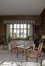 Leeds Castle Living Room Royalty Free Stock Photo