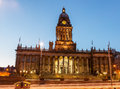 leeds city hall Royalty Free Stock Photo