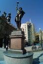 Leeds City Square Royalty Free Stock Photo