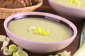 Leek Soup Royalty Free Stock Images