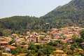 Lefkada Island Village Stock Images