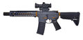 Left Side SBR AR15 / M16 With Collapsible Stock, 10` Barrel With Large Muzzle Device