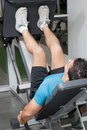 Leg Press - Vertical Stock Images